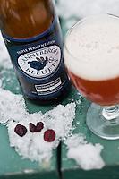 Amérique/Amérique du Nord/Canada/Québec/ Québec: Bières du Québec aux Canneberges au Marché du Vieux Port