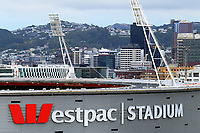 Westpac Stadium in Wellington, New Zealand on Saturday, 16 March 2019. Photo: Dave Lintott / lintottphoto.co.nz