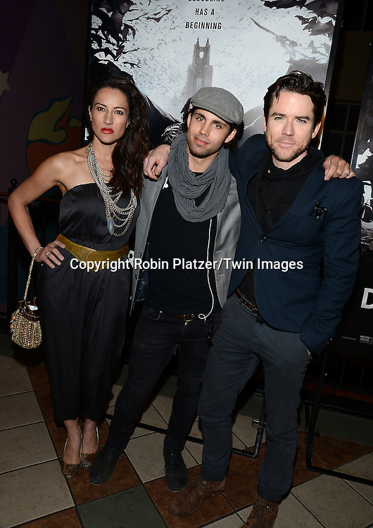 America Olivo, Maxx Reed and Christian Campbell attend the Special Screening of &quot;Dracula Untold&quot;  on October 6, 2014 at The ABC Loews 34th Street Imax Theatre In New York City. <br /> <br /> photo by Robin Platzer/Twin Images<br />  <br /> phone number 212-935-0770