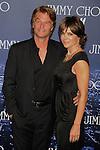 WEST HOLLYWOOD, CA. - November 02: Harry Hamlin and Lisa Rinna  arrive at Jimmy Choo For H&M at a private residence on November 2, 2009 in West Hollywood, California.. .