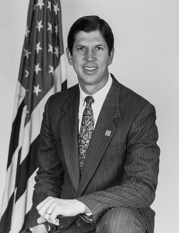 Rep. Cal Dooley, D-Calif. 1991 (Photo by CQ Roll Call via Getty Images)