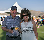 Denzil and Debra Gunnels during the Art of Childhood Gala and Fundraiser at Montreux Golf and Country Club on Friday, August 24, 2018.