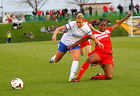 BOYDS, MD - April 19 2014: Washington Spirit v FC Kansas City in a NWSL match at Maryland Sportsplex, in Boyds, Maryland.<br /> Spirit won 3-1.