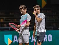 Rotterdam, The Netherlands, 9 Februari 2020, ABNAMRO World Tennis Tournament, Ahoy, Doubles: Wesley Koolhof (NED) (L) and Nikola Mektic (CRO)<br /> Photo: www.tennisimages.com