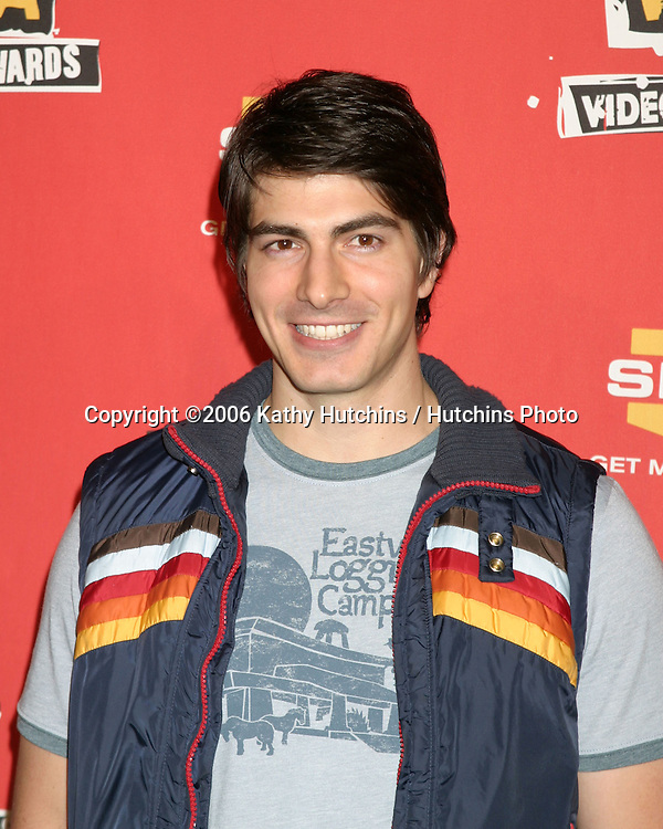 Brandon Routh.Spike TV's 2006 Video Game Awards.Galen Center, USC.Los Angeles, CA.December 8, 2006.©2006 Kathy Hutchins / Hutchins Photo.