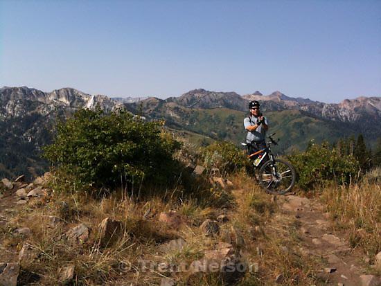 Wasatch Crest mountain biking. Sunday, August 30 2009.chris detrick
