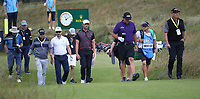 Phil Mickelson (USA) leads the way during a practice round ahead of the 148th Open Championship, Royal Portrush Golf Club, Portrush, Antrim, Northern Ireland. 16/07/2019.<br /> Picture David Lloyd / Golffile.ie<br /> <br /> All photo usage must carry mandatory copyright credit (© Golffile | David Lloyd)