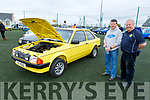 Richard Delaney (Ardfert) and Tony Hehir (Ballyheigue) admiring an 1881 Mark 3 Escort at the Irish Ford Fair in Banna on Sunday.