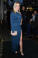 Larissa Eddy arriving for James Ingham's Jog on to Cancer 2018 at Cafe de Paris, London, UK. <br /> 04 April  2018<br /> Picture: Steve Vas/Featureflash/SilverHub 0208 004 5359 sales@silverhubmedia.com