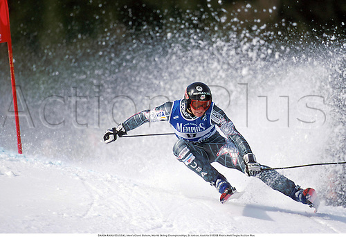 DARON RAHLVES (USA), Men's Giant Slalom, World Skiing Championships, St Anton, Austria 010208 Photo:Neil Tingle/Action Plus...2001.Winter Sports.winter sport.winter sports.wintersport.wintersports.alpine.ski.skier.man
