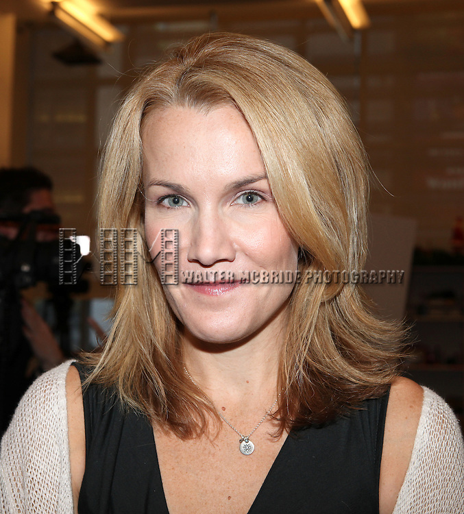 Erin Dilly attends the Meet & Greet for 'A Christmas Story, The Musical' at the New 42nd Street Studios on 10/22/2012 in New York City.