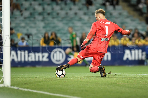 2nd February 2018, Allianz Stadium, Sydney, Australia; A League Football, Sydney FC versus Wellington Phoenix; Lewis Italiano of Wellington Phoenix