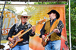 Pat Elwood and Rick Willis of The Marshall Tucker Band perform during Day 1 of the 2013 CMA Music Festival in Nashville, Tennessee.