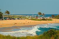 Sandy beach, a famous bodysurfing beach on Oahu's east Kaiwi coastline