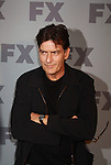 Charlie Sheen stars in FX's Anger Management and poses on the red carpet at FX 2012 Ad Sales Upfront held on March 29, 2012 at Lucky Stirke, New York, New York. (Photo by Sue Coflin/Max Photos)