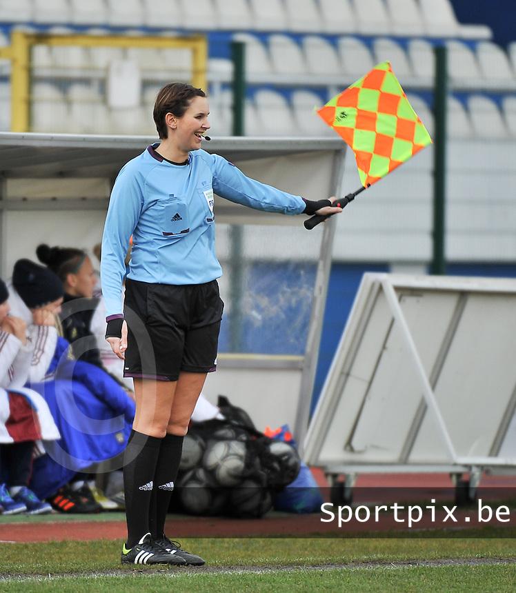 Russia U19 - Belgium U19 : Christina Jaworek (GER).foto DAVID CATRY / Nikonpro.be