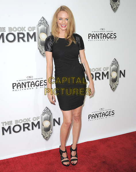 "Heather Graham.""The Book of Mormon"" Hollywood Opening night Held At The Pantages theatre, Hollywood, California, USA..September 12th, 2012.full length dress open toe sandals black .CAP/DVS.©DVS/Capital Pictures."