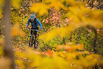 Fall mountain biking in Park City with Amy Kopischke.