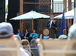 U.S. Sen. Dean Heller speaks at the 22nd annual Lake Tahoe Summit, at Sand Harbor State Park, near Incline Village, Nev., on Tuesday, Aug. 7, 2018. <br /> Photo by Cathleen Allison/Nevada Momentum