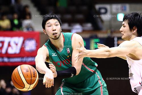 Keijuro Matsui (ALVARK), <br /> APRIL 17, 2016 - Basketball : <br /> National Basketball League &quot;NBL&quot; 2015-2016 <br /> between TOYOTA ALVARK TOKYO 87-78  Chiba Jets <br /> at 2nd Yoyogi Gymnasium, Tokyo, Japan. <br /> (Photo by AFLO SPORT)