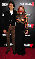 NEW YORK,NY November 015 : Christina Hendricks, Geoffrey Arend attend the 'Bad Santa 2' New York premiere at AMC Loews Lincoln Square 13 theater on November 15, 2016 in New York City...@John Palmer / Media Punch