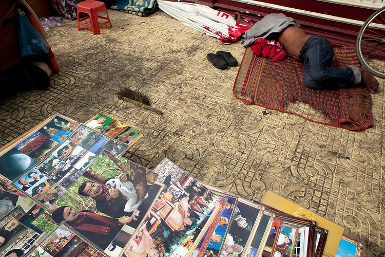 Marketplace in Phnom Penh, Cambodia. <br /> <br /> Photos &copy; Dennis Drenner 2013.