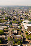 Aerial View of Portland's Central Eastside, Oregon
