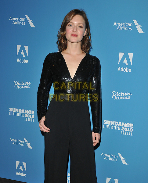 """Holliday Grainger at the """"Animals"""" Sundance London film festival European premiere, Picturehouse Central, Corner of Shaftesbury Avenue and Great Windmill Street, London, England, UK, on Friday 31st May 2019.<br /> CAP/CAN<br /> ©CAN/Capital Pictures"""