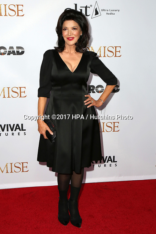"LOS ANGELES - APR 12:  Shohreh Aghdashloo at the ""The Promise"" Premiere at the TCL Chinese Theater IMAX on April 12, 2017 in Los Angeles, CA"