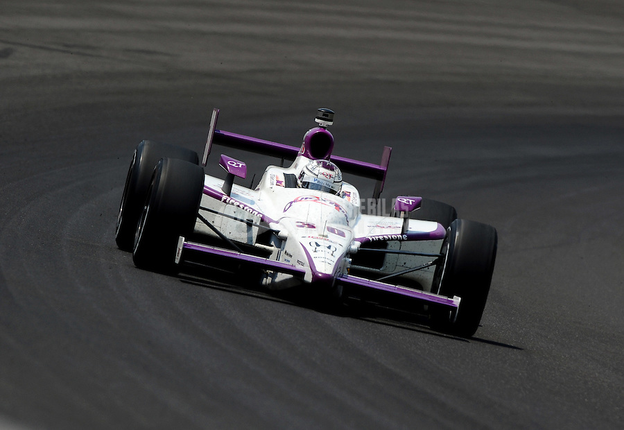 May 30, 2010; Indianapolis, IN, USA; IndyCar Series driver Graham Rahal (30) during the Indianapolis 500 at the Indianapolis Motor Speedway. Mandatory Credit: Mark J. Rebilas-