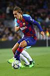 UEFA Champions League 2019/2020.<br /> Matchday 4.<br /> FC Barcelona vs SK Slavia Praha: 0-0.<br /> Antoine Griezmann.