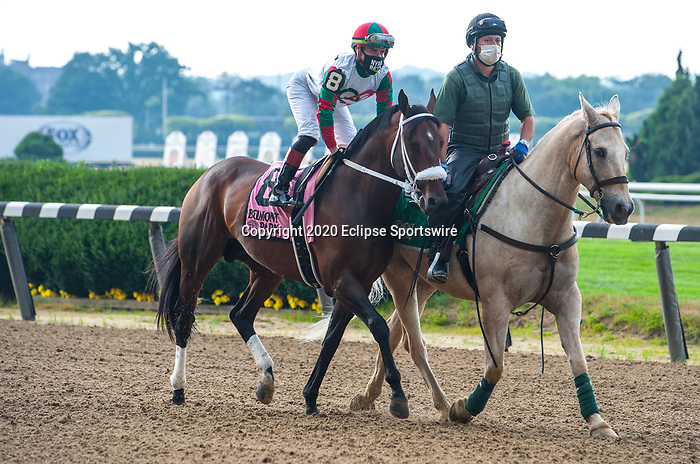 June 27, 2020: Firenze Fire, ridden by Irad Ortiz Jr., wins the G2 True North S. at Belmont Park in Elmont, NY. Sophie Shore/ESW/CSM