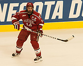 Alexander Kerfoot (Harvard - 14) - The University of Minnesota Duluth Bulldogs defeated the Harvard University Crimson 2-1 in their Frozen Four semi-final on April 6, 2017, at the United Center in Chicago, Illinois.