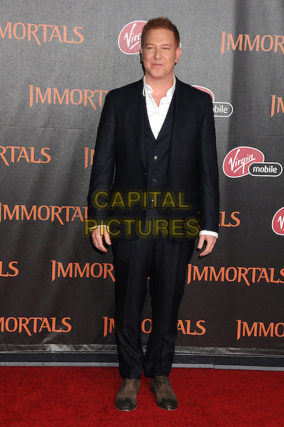 "Ryan Kavanaugh.""Immortals"" World Premiere held at Nokia Theatre LA Live, Los Angeles, California, USA..November 7th, 2011.full length black suit .CAP/ADM/BP.©Byron Purvis/AdMedia/Capital Pictures."
