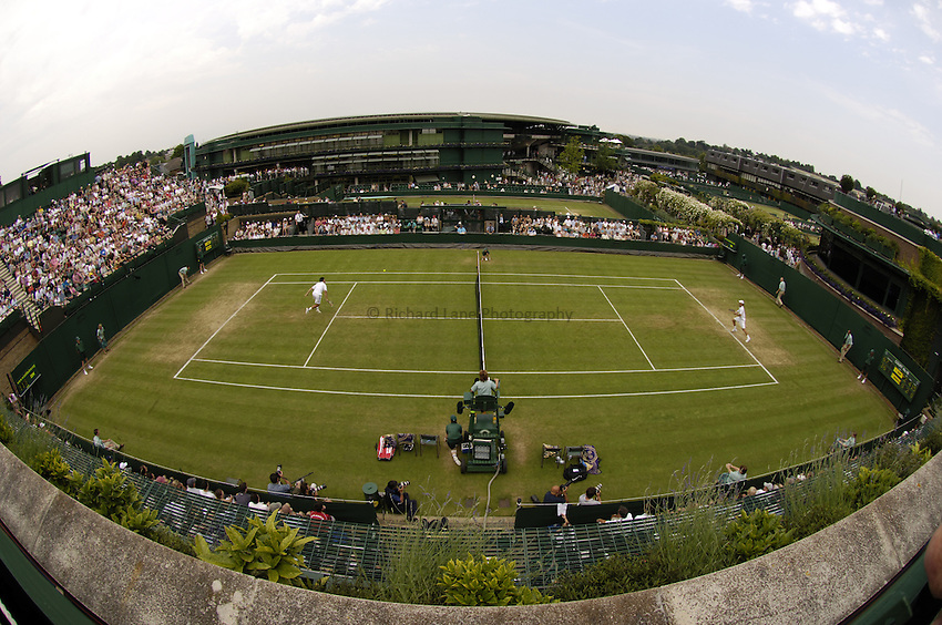 Photo. Jed Wee..Wimbledon Championships. 24/06/2005..Court number 18.