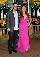 "LOS ANGELES, USA. October 11, 2019: Abigail Breslin & Ira Kunyansky at the premiere of ""Zombieland: Double Tap"" at the Regency Village Theatre.<br /> Picture: Paul Smith/Featureflash"