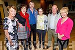 Mairie O'Donnell (Camp), Phil O'Sullivan (Ballyseedy), Den Curtin (Brosna), Margaret Conway (Gortatlea), Mike Moynihan (Kilcummin) and Noreen Horan (Tralee) at the 60th Celebration Céilí for Comhaltas Ceoltóirí Éireann in the Duchas Comhaltas Centre, IT Tralee on Sunday.