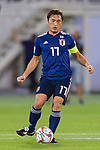 Aoyama Toshihiro of Japan in action during the AFC Asian Cup UAE 2019 Group F match between Japan (JPN) and Uzbekistan (UZB) at Khalifa Bin Zayed Stadium on 17 January 2019 in Al Ain, United Arab Emirates. Photo by Marcio Rodrigo Machado / Power Sport Images