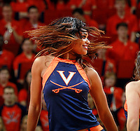 Virginia dancer during the game Jan. 22, 2015, in Charlottesville, Va. Virginia defeated Georgia Tech 57-28.