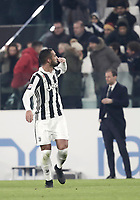 Calcio, Serie A: Juventus - AS Roma, Torino, Allianz Stadium, 23 dicembre, 2017. <br /> Juventus' Medhi Benatia celebrates after scoring during the Italian Serie A football match between Juventus and Roma at Torino's Allianz stadium, December 23, 2017.<br /> UPDATE IMAGES PRESS/Isabella Bonotto