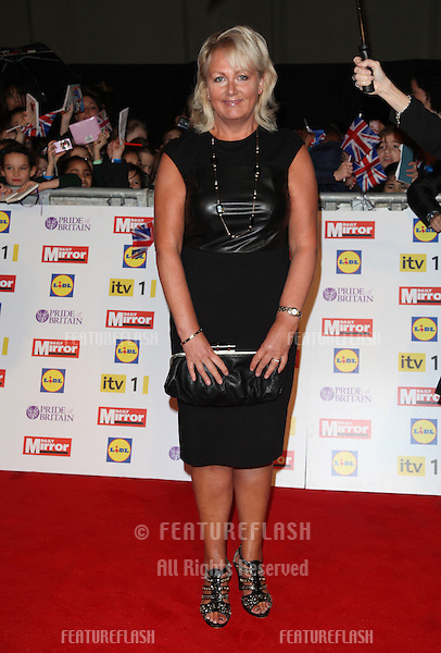 Sue Cleaver arriving for the 2012 Pride of Britain Awards, at the Grosvenor House Hotel, London. 29/10/2012 Picture by: Alexandra Glen / Featureflash