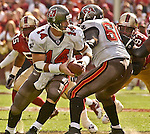 Tampa Bay Buccaneers quarterback Brad Johnson (14) on Sunday, October 19, 2003, in San Francisco, California. The 49ers defeated the Buccaneers 24-7.