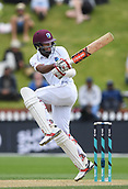 3rd December 2017, Wellington, New Zealand;  Kraigg Brathwaite.<br /> Day 3. New Zealand Black Caps v West Indies. 1st test match of the ANZ International Cricket Season 2017/18 season. Basin Reserve, Wellington,