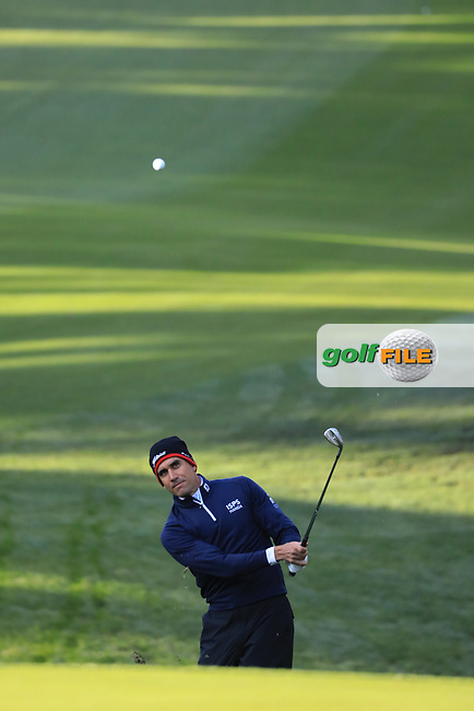Rafa Cabrera Bello (ESP) during the first round of the AT&amp;T Pro-Am, Pebble Beach Golf Links, Monterey, California, USA. 07/02/2019<br /> Picture: Golffile | Phil Inglis<br /> <br /> <br /> All photo usage must carry mandatory copyright credit (&copy; Golffile | Phil Inglis)