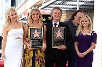 LOS ANGELES - MAY 4:  Kate Hudson, Goldie Hawn, Kurt Russell, Quentin Tarantino, Reese Witherspoon at the Kurt Russell and Goldie Hawn Star Ceremony on the Hollywood Walk of Fame on May 4, 2017 in Los Angeles, CA