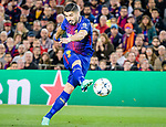 Luis Alberto Suarez Diaz of FC Barcelona in action during the UEFA Champions League 2017-18 quarter-finals (1st leg) match between FC Barcelona and AS Roma at Camp Nou on 05 April 2018 in Barcelona, Spain. Photo by Vicens Gimenez / Power Sport Images