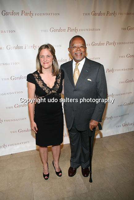 Board Member Dyllan McGee and Henry Louis Gates, Jr Attend The Gordon Parks Foundation 2013 Awards Dinner and Auction Held at the Plaza Hotel, NY