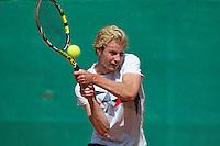 August 13, 2014, Netherlands, Raalte, TV Ramele, Tennis, National Championships, NRTK,  Botic van de Zandschulp (NED)<br /> Photo: Tennisimages/Henk Koster