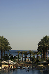 Israel, The Red Sea. Herods hotel in Eilat