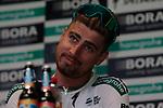 Peter Sagan (SVK) Bora Hansgrohe at the team press conference before the 2019 Tour de France starting in Brussels, Belgium. 5th July 2019<br /> Picture: Colin Flockton | Cyclefile<br /> All photos usage must carry mandatory copyright credit (© Cyclefile | Colin Flockton)